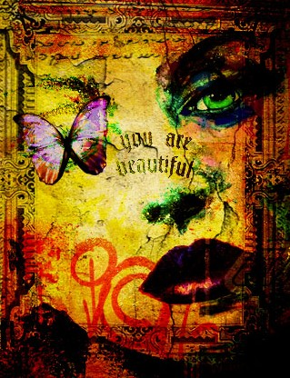 You are beautiful copy