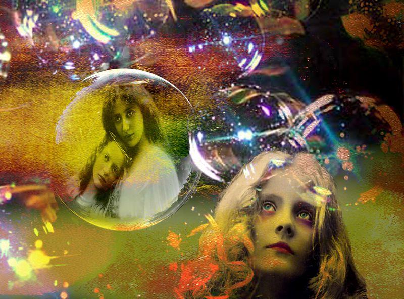 Digital whisper challenge Soap bubble copy