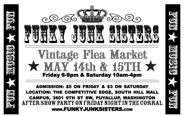 Funky junk poster may 2010